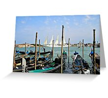 Summer In Venice Greeting Card