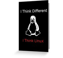 I think Linux Greeting Card