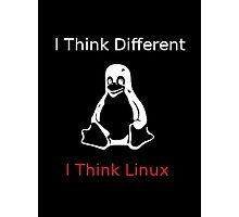 I think Linux Photographic Print