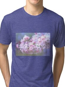 Cherry Blossom in Spring Tri-blend T-Shirt