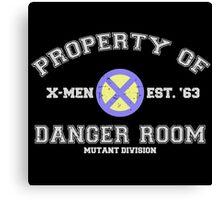Danger Room Training Canvas Print