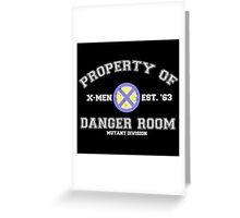 Danger Room Training Greeting Card