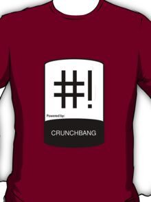 powered by ChunchBang ! T-Shirt