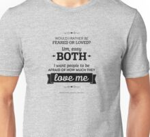 Dunder Mifflin The Office - Michael Scott Feared or Loved Unisex T-Shirt