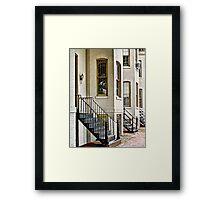 Historic District Framed Print