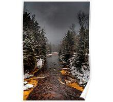 Winter Streams Poster