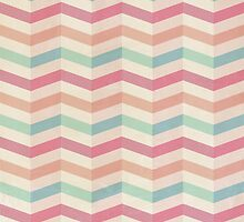 Colourful Chevrons by RumourHasIt