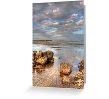 Miami on Horizon Greeting Card