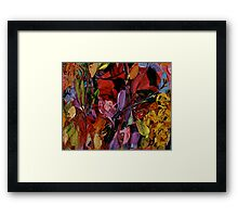 ONCE AND AGAIN by Janai-Ami Framed Print