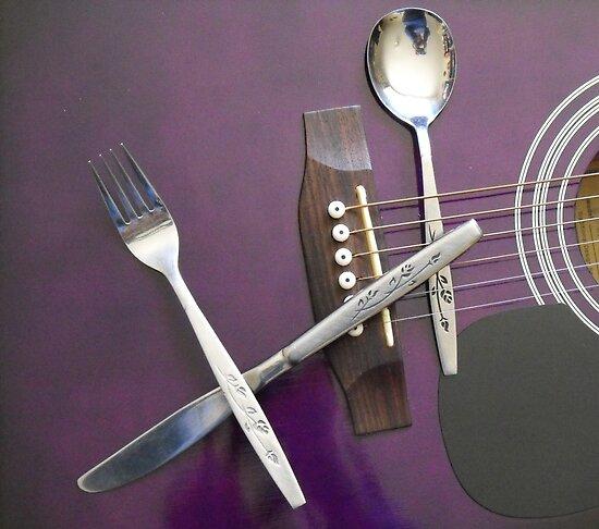 Cutlery by Matthew Sims
