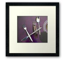Cutlery Framed Print
