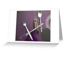 Cutlery Greeting Card