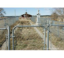 My Heart is Buried at Wounded Knee Photographic Print