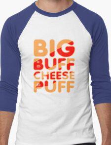 Big Buff Cheese Puff Men's Baseball ¾ T-Shirt