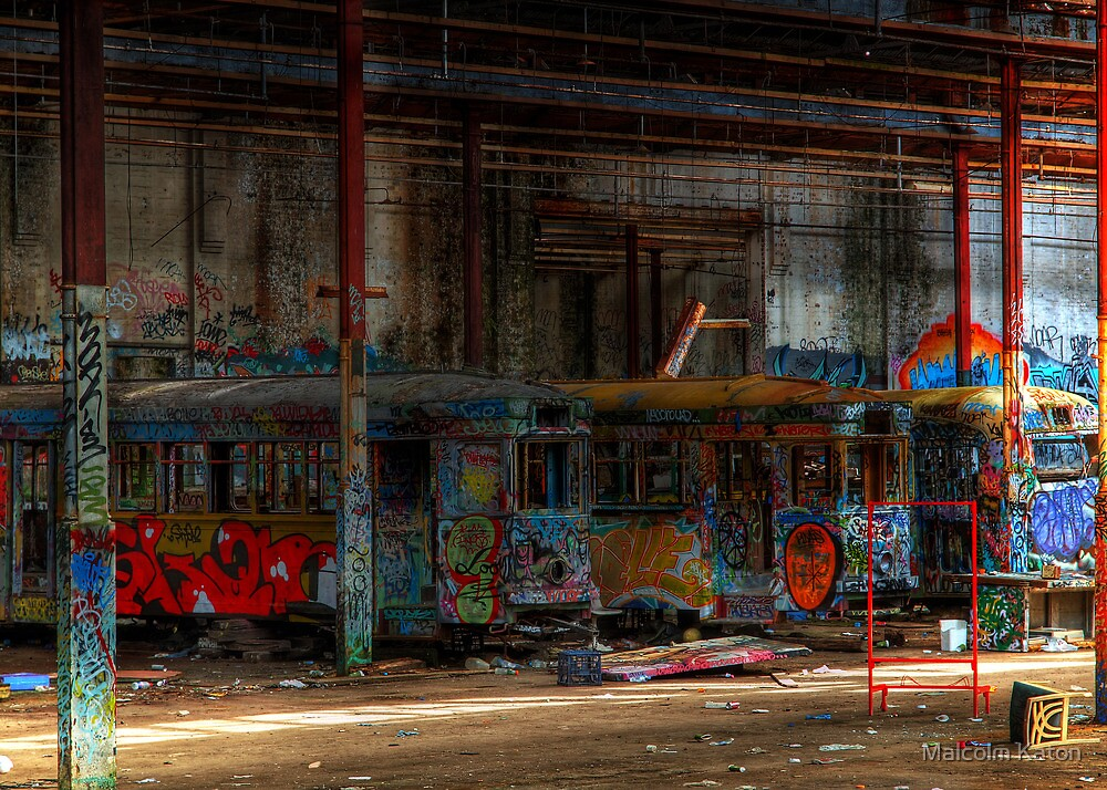 End of the Line by Malcolm Katon