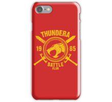 Thundera Battle Club iPhone Case/Skin
