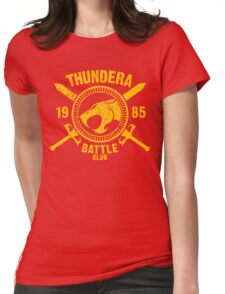 Thundera Battle Club Womens Fitted T-Shirt