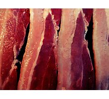 Why bacon of course Photographic Print