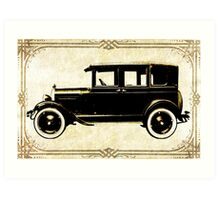 1927 Chevy Art Print