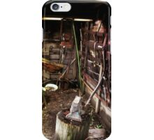 Old timers shed iPhone Case/Skin
