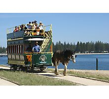 Victor Harbor Horse-drawn Tram, South Australia Photographic Print