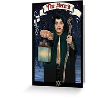 The Hermit Greeting Card