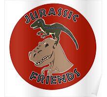 Jurassic Friends Poster