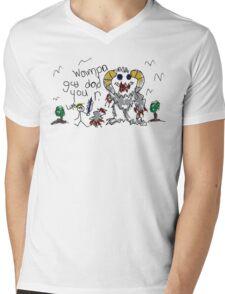 Wampa Gud Dad You R. Mens V-Neck T-Shirt