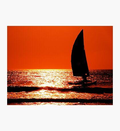 Sail Sunrise Photographic Print