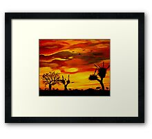 Colours of the Top End Framed Print