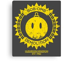 Bob-omb Demolition Canvas Print