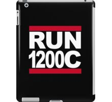 RUN 1200C iPad Case/Skin