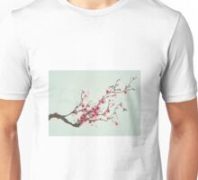 Whimsical Pink Cherry Blossom Tree Unisex T-Shirt