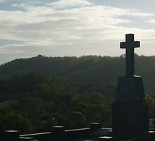 Late Afternoon View from a Resting Place by Tweetie