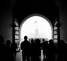 Tunnel of light by Danim