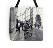 Daily life in Prague Tote Bag