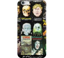 H P Lovecraft Covers iPhone Case/Skin