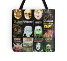H P Lovecraft Covers Tote Bag
