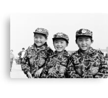 Child Soldiers Canvas Print