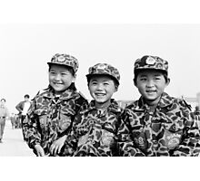 Child Soldiers Photographic Print