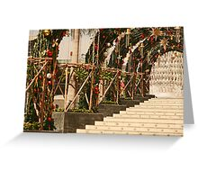 Stairway to Xmas Heaven in Bangkok Greeting Card
