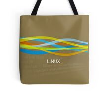 Linux Rainbow Tote Bag
