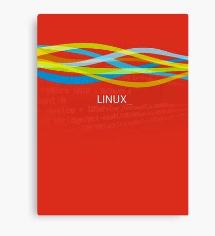 Linux Rainbow Canvas Print