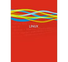 Linux Rainbow Photographic Print