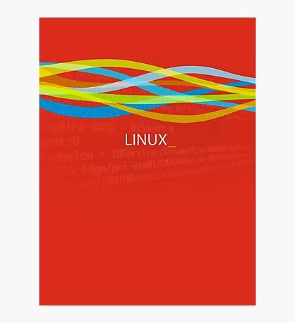 Linux Rainbow Photographic Print