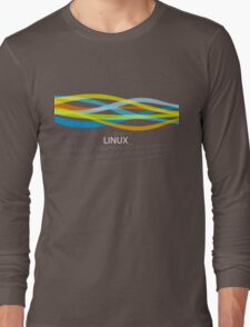 Linux Rainbow Long Sleeve T-Shirt