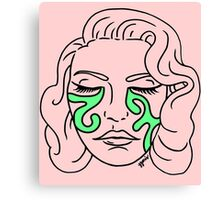 Crying Goop Canvas Print