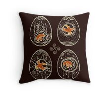Ravens spring Throw Pillow