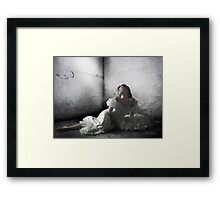 My Heart is yours Framed Print