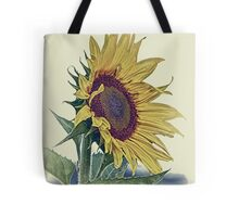 Sunflower Vintage Retro Floral Picture, Poster, Print, Shirt, Clothes, Cases, Skins, Home Decor, Stickers Tote Bag